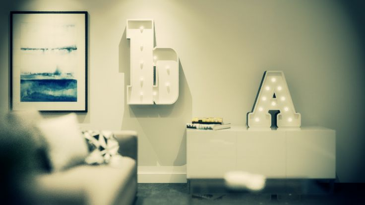 """B and A lights from the Fromage la Rue lowercase range named """"San Andreas"""" http://www.fromagelarue.com.au/product/san-andreas-lowercase. Perfect for men's gifts, wedding gifts, wedding lighting or just because!"""