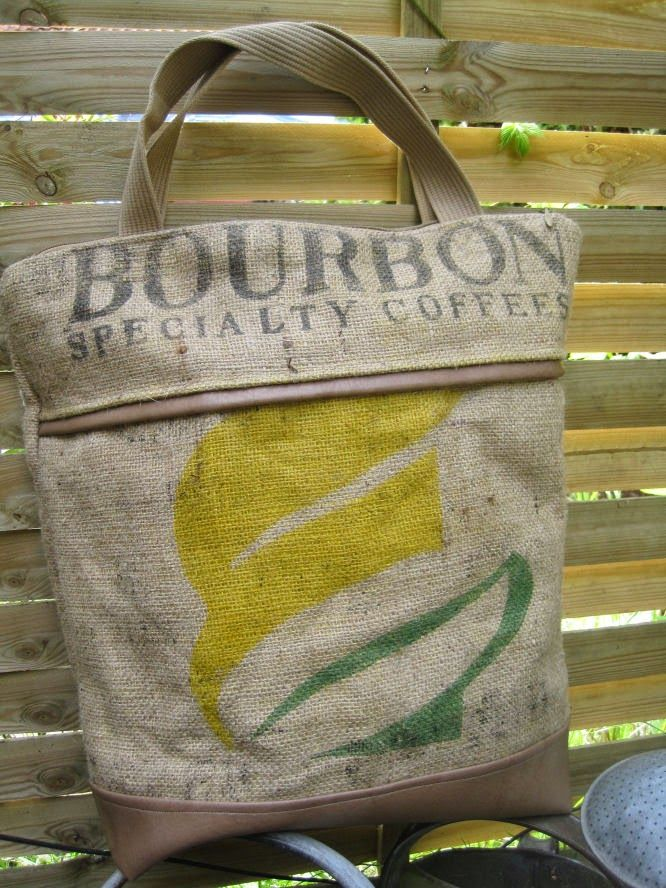 kürzlich konnte ich zwei kaffeesäcke ergattern und mir war klar, einer wird meine neue einkaufstasche es i...