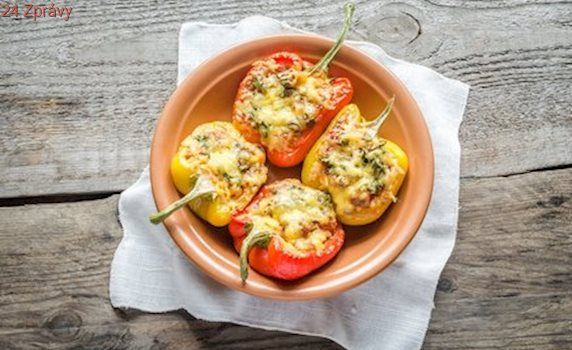 Voňavá zeleninka: Plněné papriky na grilu