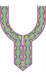 Hippie Boho Style Top Blouse Embroidery Design