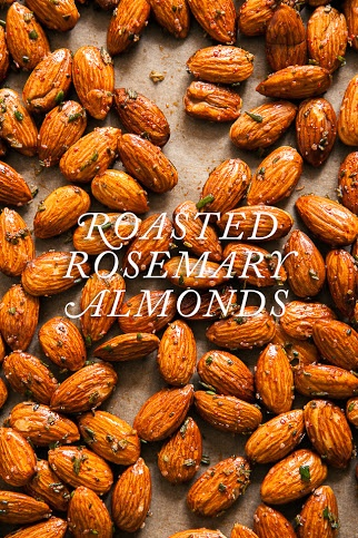 Roasted Rosemary Almonds