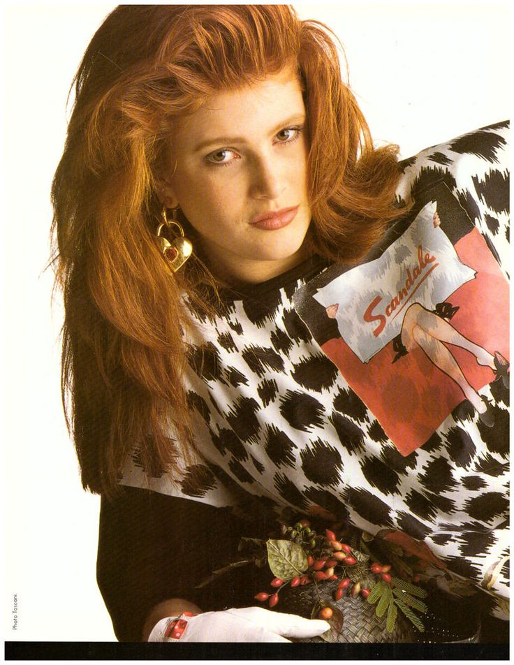 1988 Angie Everhart Malouf Toscani Italy Print Ad Advertisement Vintage VTG 80s | eBay