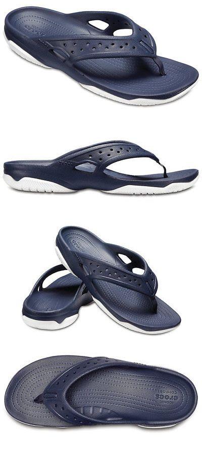 b47c6c9238de Sandals 11504  Crocs Mens Swiftwater Deck Flips -  BUY IT NOW ONLY   17.5  on  eBay  sandals  crocs  swiftwater  flips