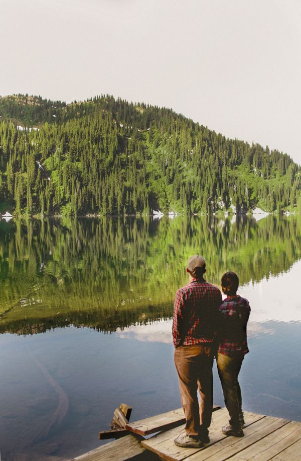 +/  lerobinsnest: plaid wearers. mountain dwellers. lake swimmers. fish lake, id. summer 2012.