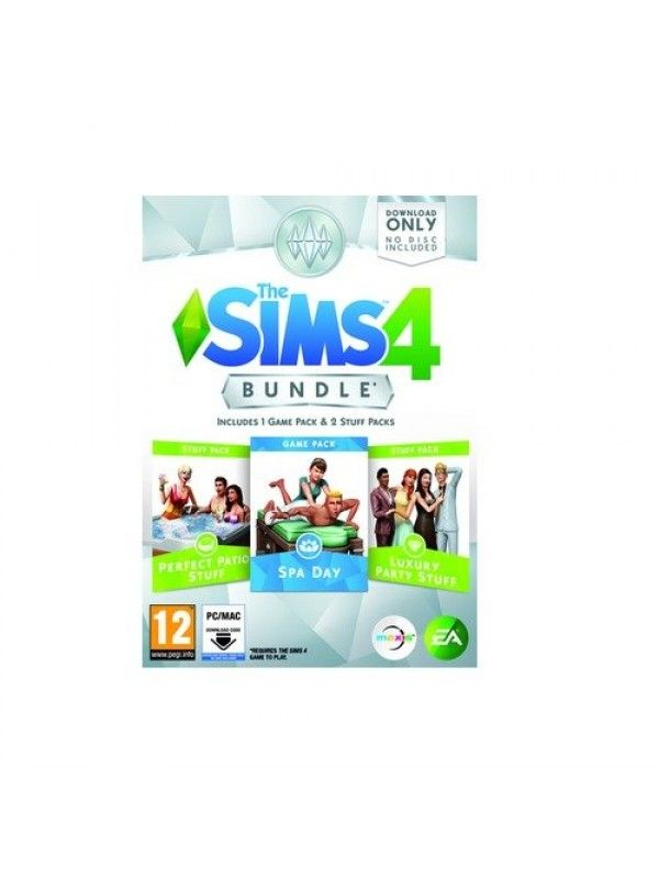 Игра The Sims 4 Bundle Pack 3 Spa Day за PC