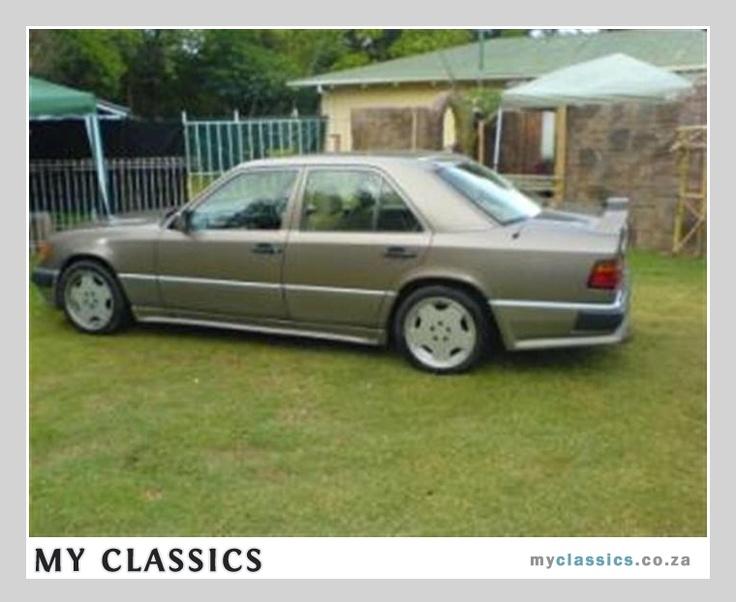 1990 Mercedes-Benz E300 AMG classic car