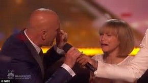 Image result for grace vanderwaal crying after agt win