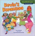 Kevin's Kwanzaa  tells the story of a little boy named Kevin and how his family celebrates the holiday Kwanzaa. It contains many historical facts about Kwanzaa and African culture. It is filled with colorful cartoonish drawings that would catch children's eyes, and teaches children how to make a Kwanzaa drum at the end of the book. Throughout the book are side graphics that include more facts for children to learn and help enhance the learning value of the story.