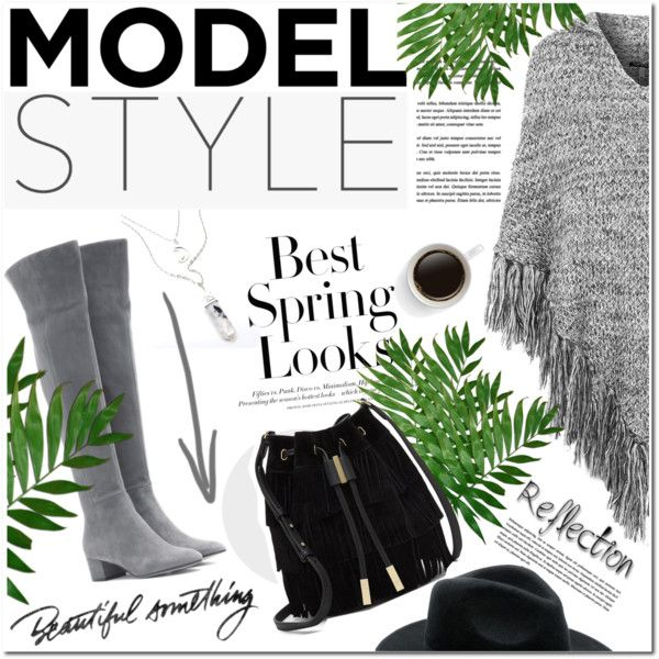 A fashion look from October 2015 by vanjazivadinovic featuring Topshop, Gianvito Rossi, Vince Camuto, H&M y polyvoreeditorial