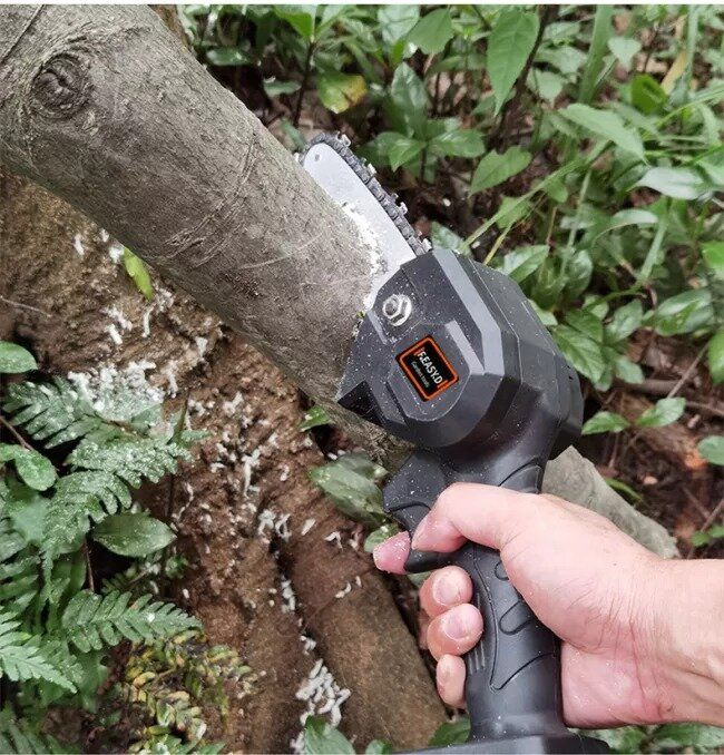 Pruning Shears Chainsaw for Tree Branch Wood Cutting Mini Chainsaw ...