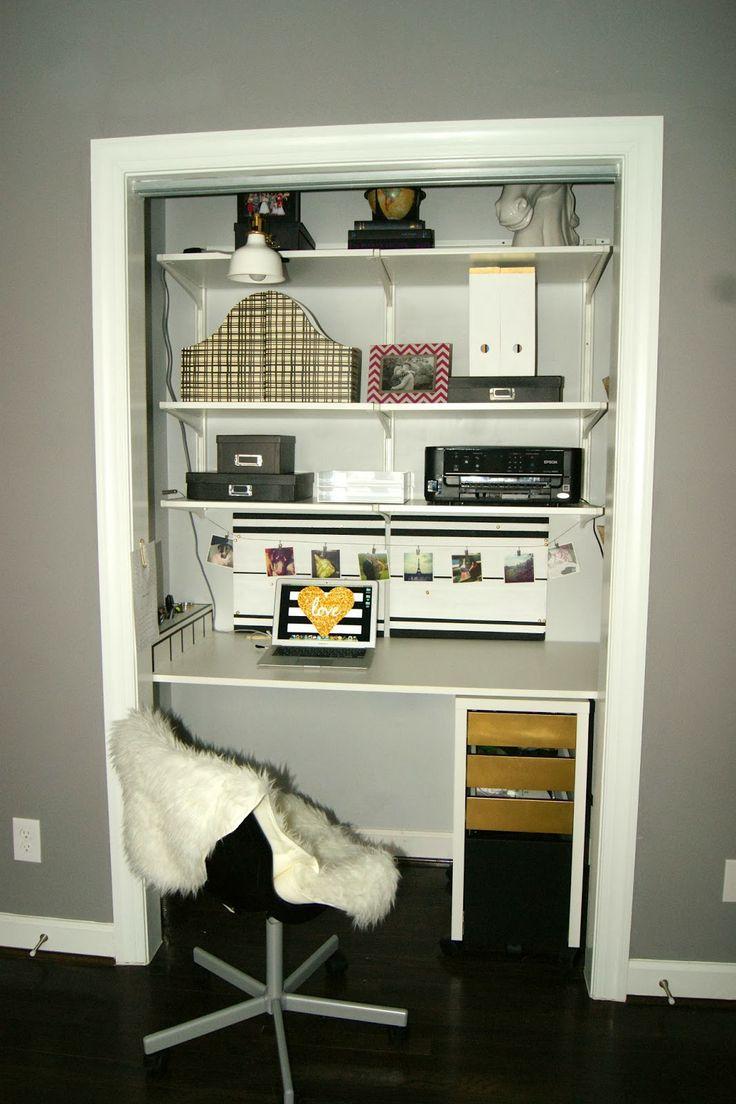 Best 25 Closet desk ideas on Pinterest  Closet office