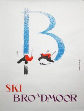 Herbert Broadmoor Poster
