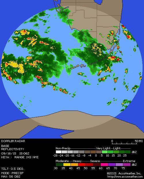 Key West, FL Doppler Local Weather Radar Map - AccuWeather.com