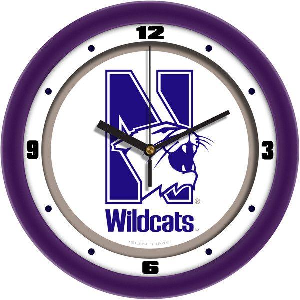 Northwestern Wildcats Traditional Wall Clock