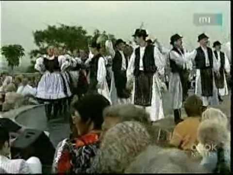 Hungarian csardas dancers