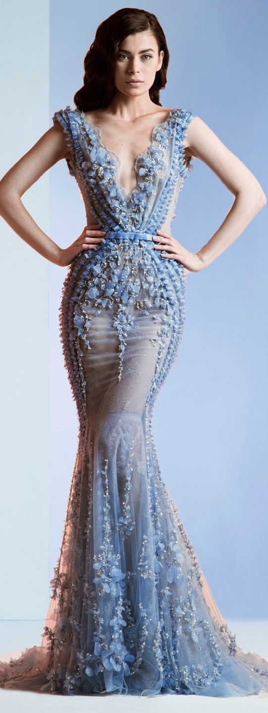 Ziad Nakad Haute Couture S/S 2014 ~Latest Luxurious Women's Fashion - Haute Couture - dresses, jackets. bags, jewellery, shoes etc