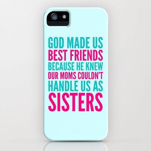 Cute best friend I pod cases
