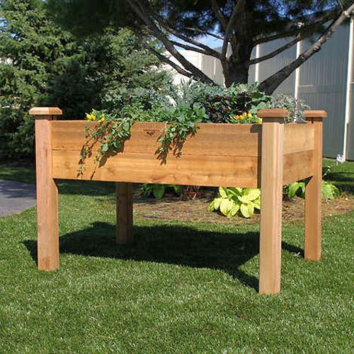 $189.99 Retail Value. We have three Gronomics Rustic Elevated Garden Beds 944175 #60755 available. These Gronomics Rustic Elevated Garden Beds are New! These Gronomics Rustic Elevated Garden Beds come in their original boxes. These Gronomics Rustic Elevated Garden Beds are available at our store location. Pictures are internet photos of the product. Product details are listed below. If you are interested please call us first to ensure item is still available. or feel free to come down to our…