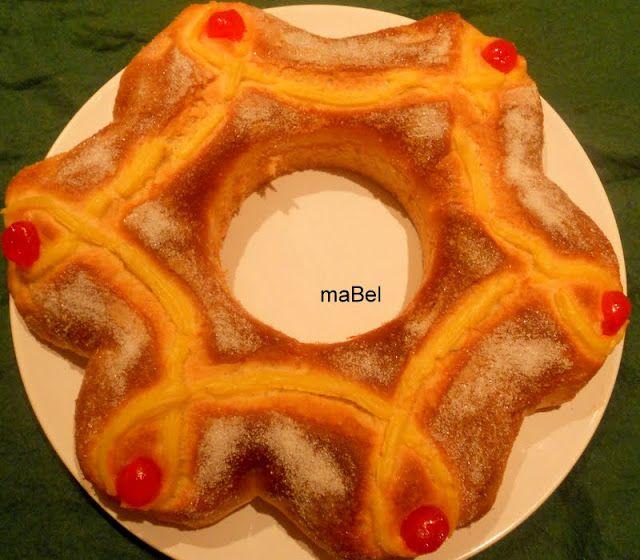 Roscon corona de Reyes
