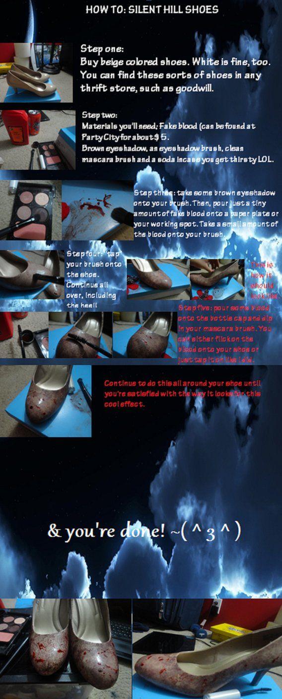 Tutorial: Silent Hill Nurse Shoes by ElleKio