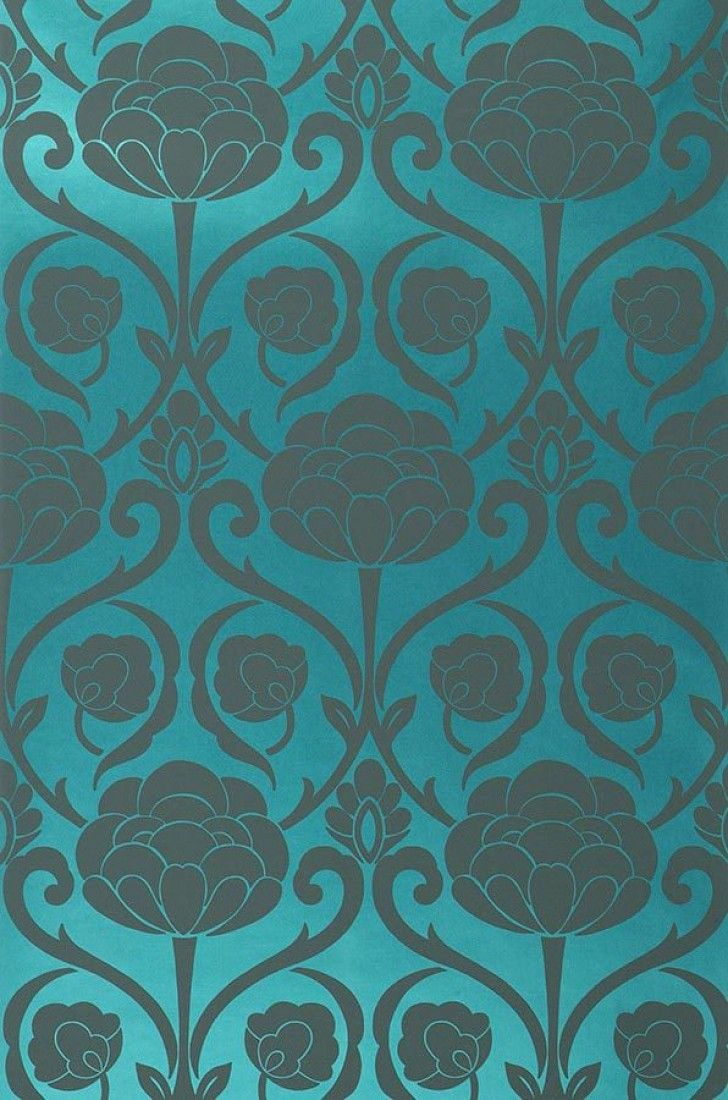 64 Best Wall Paper Images On Pinterest Damask Wallpaper