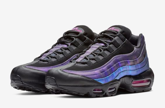nike air max 95 premium black blue