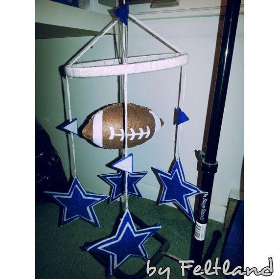 Dallas Cowboys   Football Crib Mobile