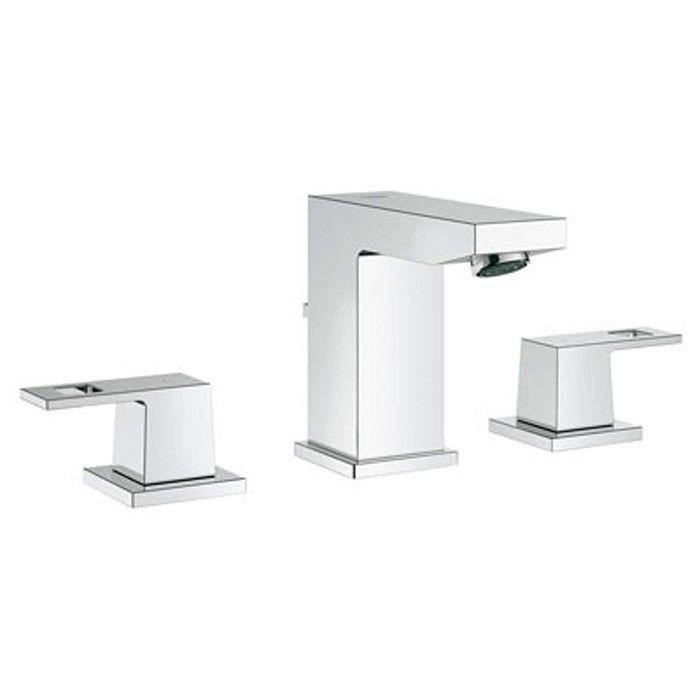Grohe Eurocube Essentials Bathroom Kit Faucet, Roll Holder  Robe