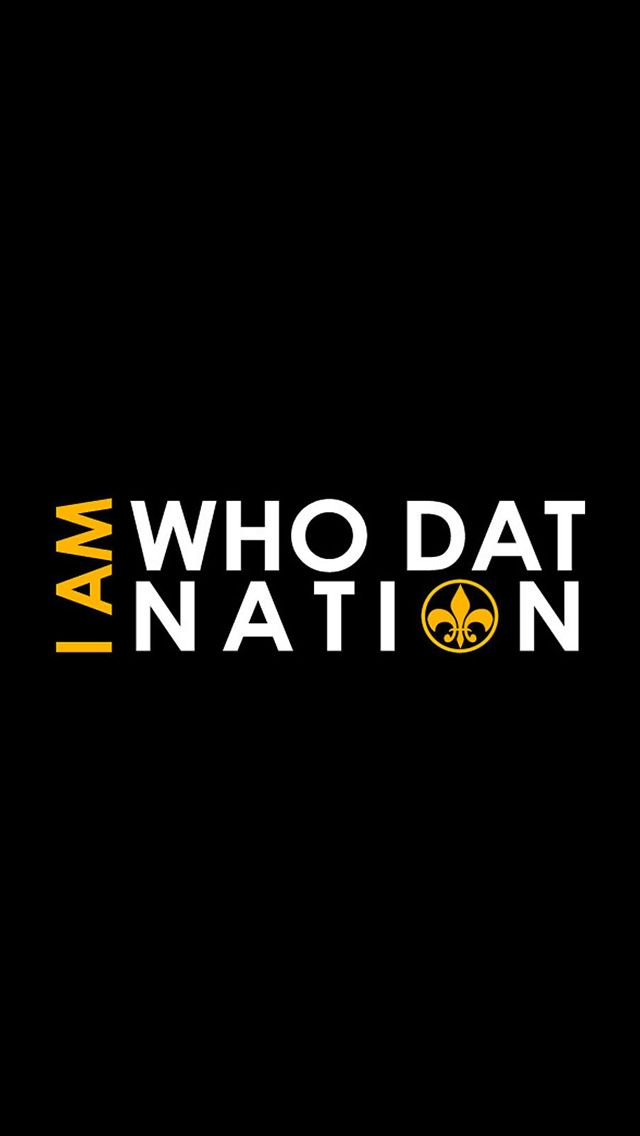 i am who dat iphone wallpaper louisiana cajun fire