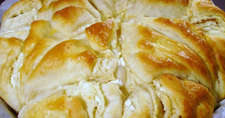 Angellove's Cooking: Бърз тутманик Аелис / Tutmanik aka Multi-layer Bread with Feta Cheese