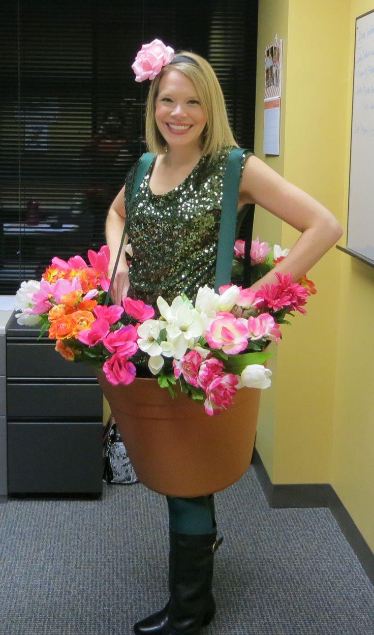 Thanks for the inspiration, Pinterest: My Flower Pot Costume