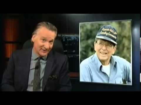 """Bill Maher """"New Rules"""" JFK vs Reagan. Bill Maher John F Kennedy vs Ronald Reagan"""