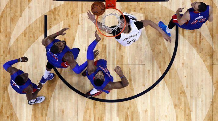 Pistons vs. Pelicans - Gran Anthony Davis, en la victoria de pelicans frente a los de detroit