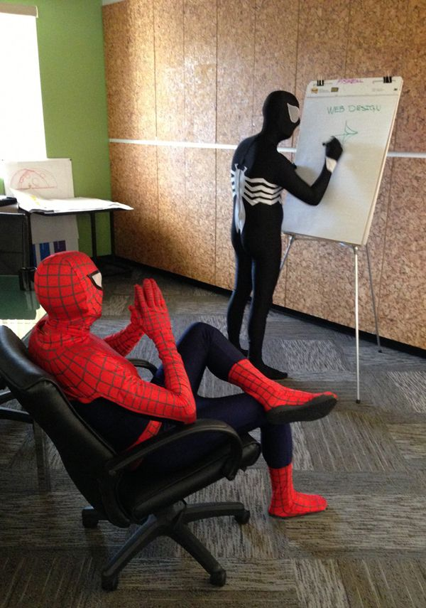 Spider-Man and Venom: Web Designers