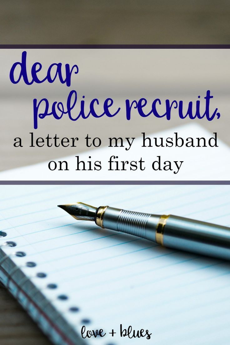 Love this ♥️ I had the same thoughts before my husband went to the police academy!