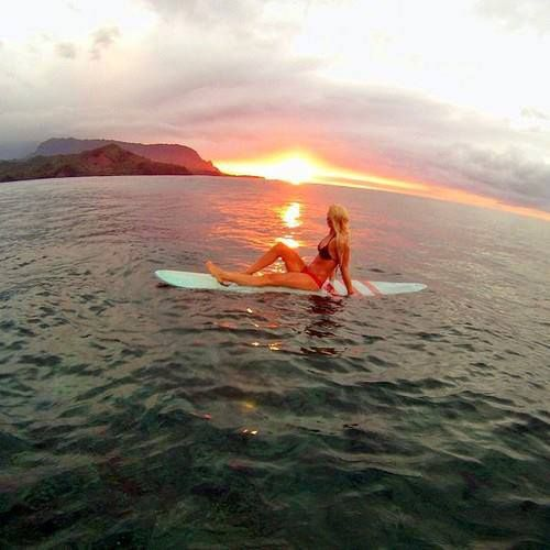 Girls Surfing Wallpaper: 1023 Best Images About Beach Sunrise To Sunset On