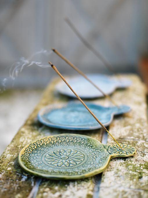 incense burning.