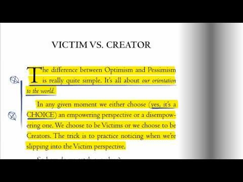 victim vs creator Discover what victim thinking is and how to deal with it successfully.