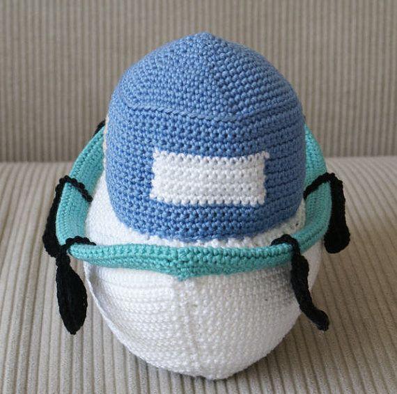 PATTERN: Crochet fishing Boat toy by Walnutbaby on Etsy