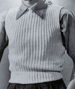 15 best Knitting vest for man images on Pinterest | Free knitting ...
