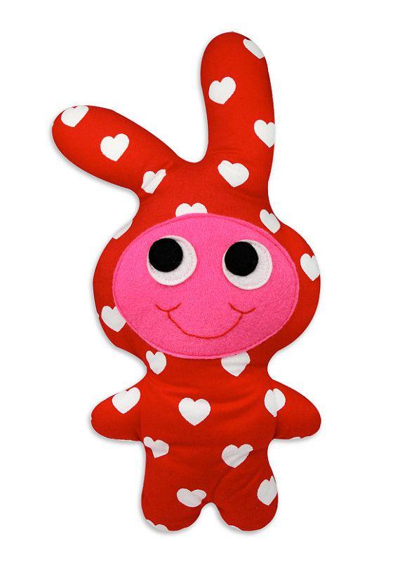 Happy Rabbit in the Discodip Etsy Shop