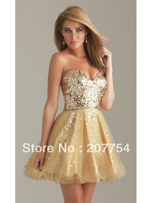 Dresses #Organza V-Neck Short Dress #Prom Dress Prom Dresses