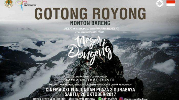 'Negeri Dongeng' Bakal Tayang di Surabaya, Jangan Ngaku Pecinta Alam Kalau Belum Nonton Film Ini!