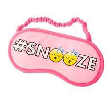 #Snooze Emoji Sleep Mask