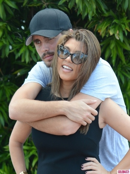 Photos - Kourtney Kardashian and Scott Disick: Cutest Moments - 1 - Celebuzz