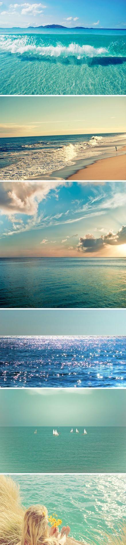 The ocean + beach. Always.