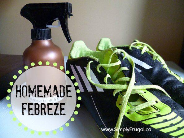 Obtenez la puanteur de tissus avec cette recette maison de Febreze!