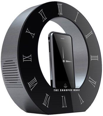 Sharper Image Clock Dock