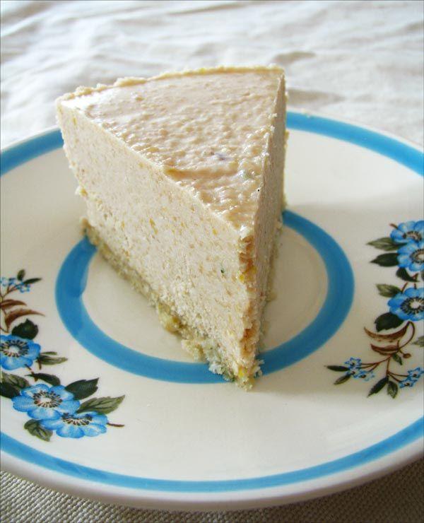 Gâteau cru au citron et lavande #végétalien Lemon and lavender cake #vegan #raw