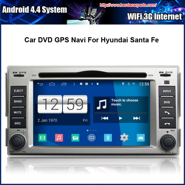 Car DVD/GPS player FOR Hyundai New Santa Fe 2008-2011 With GPS Radio Bluetooth S100 Support DVR Free Map